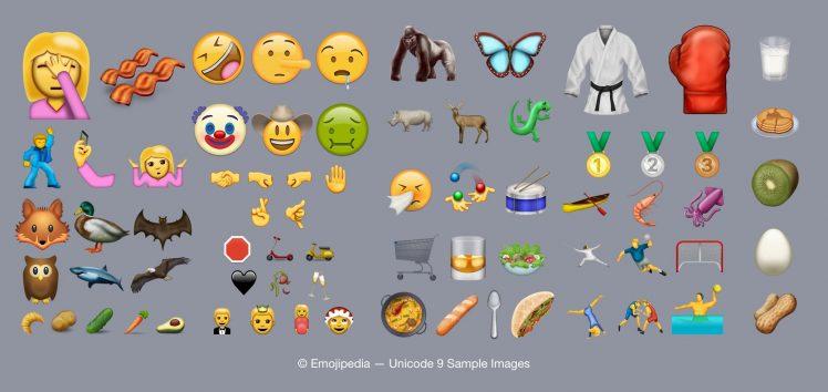 Unicode 9 Emojipedia