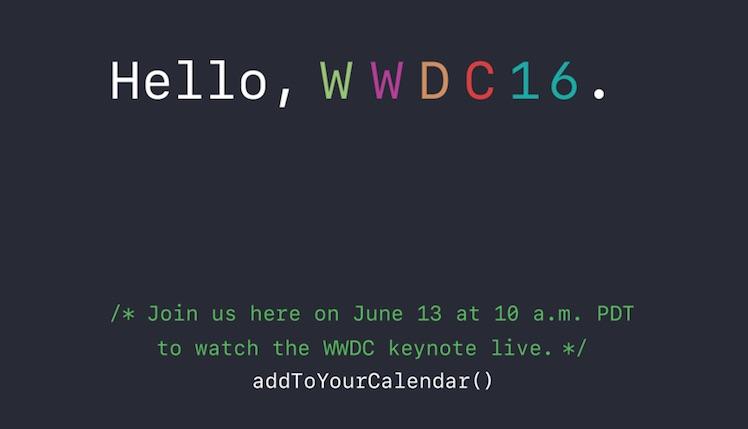 WWDC 2016 Livestream