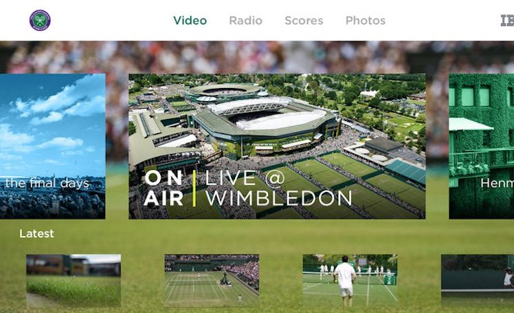 Wimbledon Apple TV 4