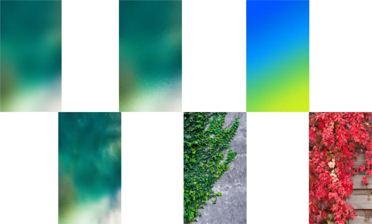 iOS 10 Hintergrund Mix Bild