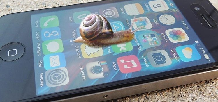 iPhone langsam