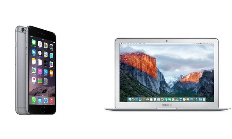 iphone 6 plus macbook air