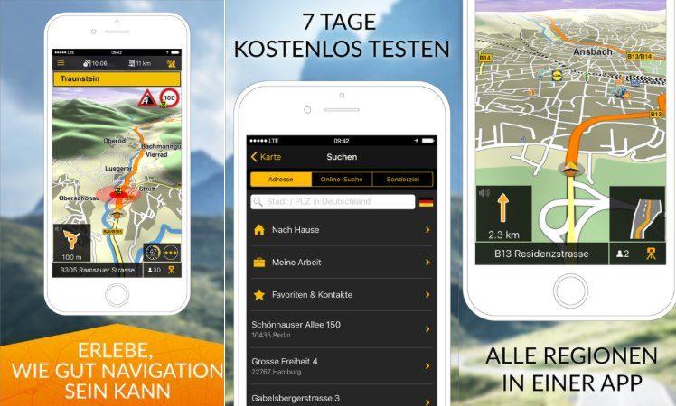 Navigon neue App 2016