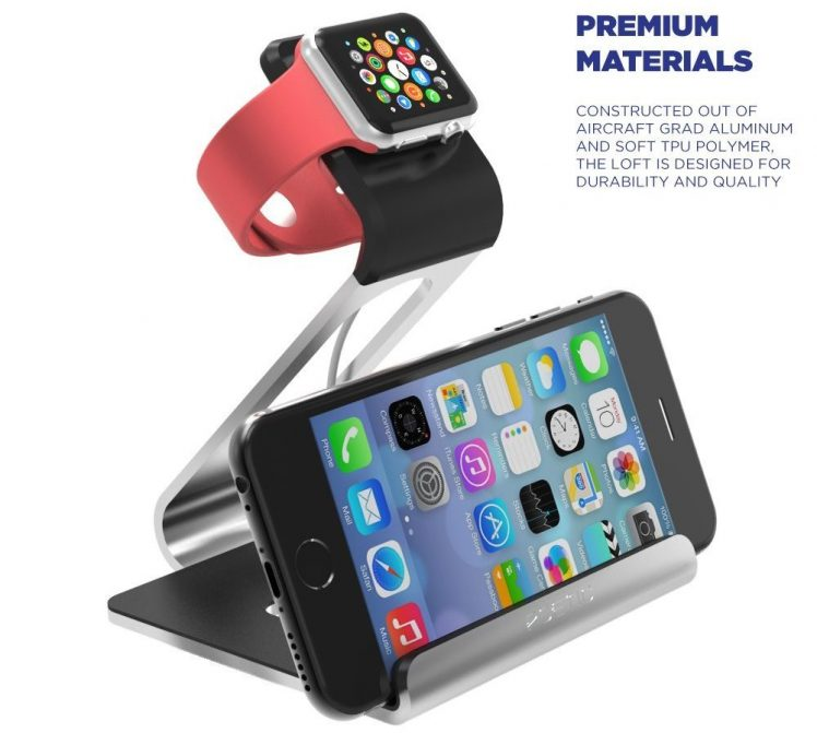 Poetic Apple Watch iPhone Stand