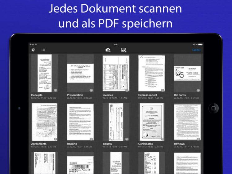 SharpScan Screen