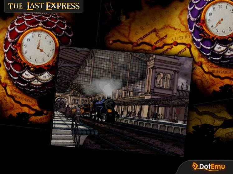 The Last Express Screen