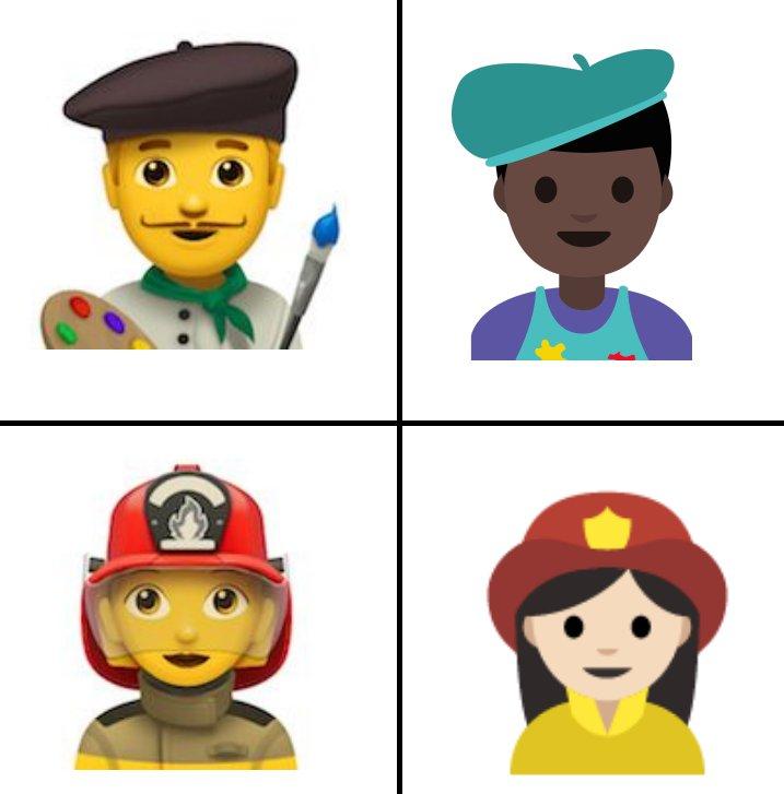 Apple Beruf Emojis