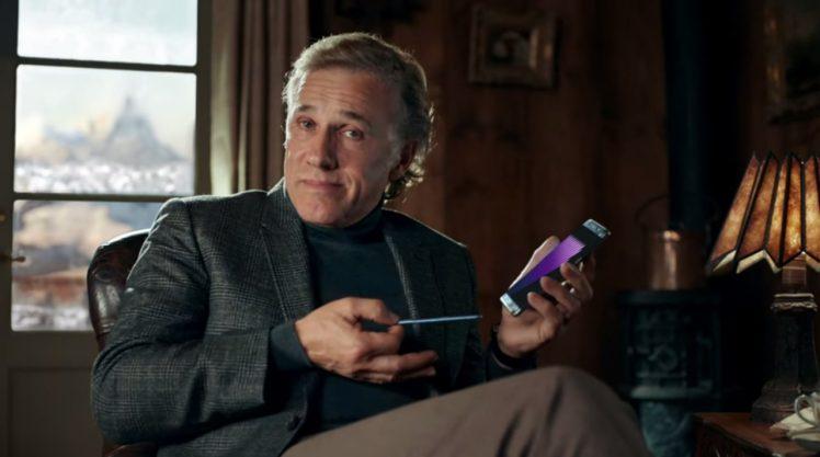 Christoph Waltz Galaxy Note 7