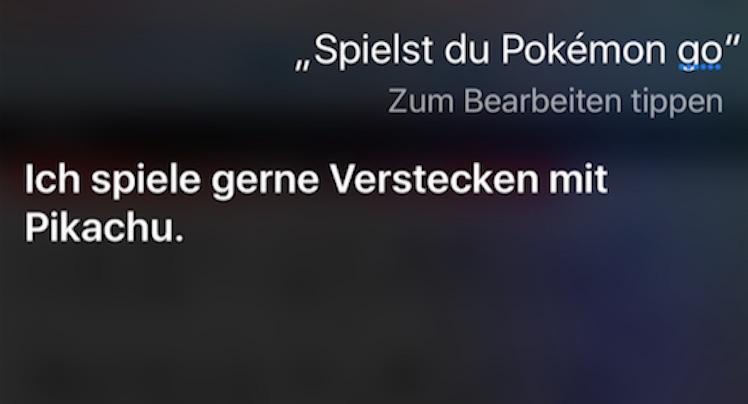 Siri Pikachu
