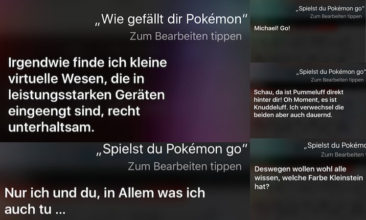 Siri Pokemon