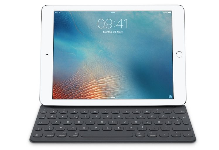Smart Keyboard iPad Pro deutsch