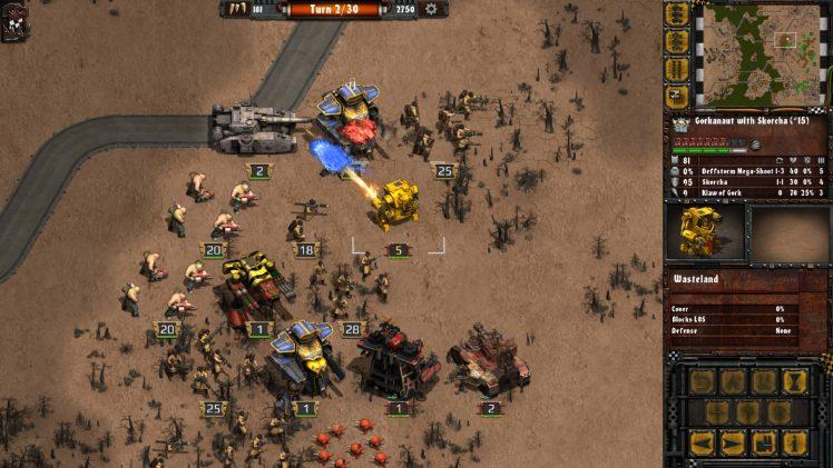 warhammer 40000 armageddon da orks screen