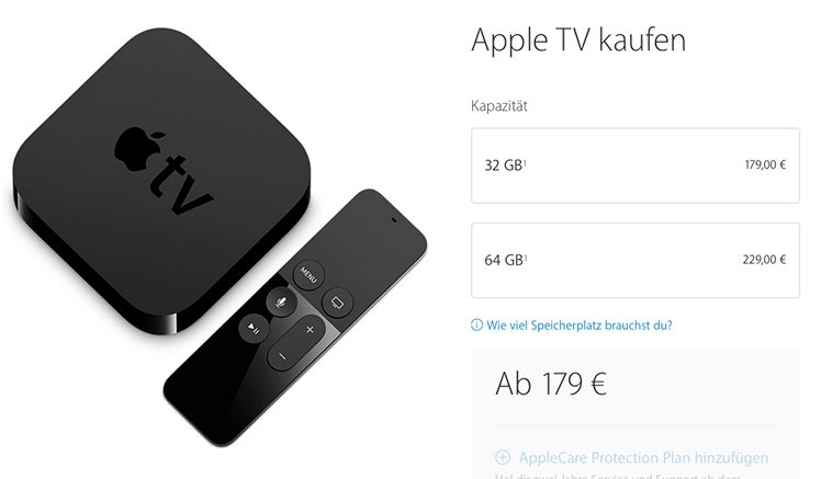 apple tv altes modell steht endg ltig vor dem aus itopnews. Black Bedroom Furniture Sets. Home Design Ideas