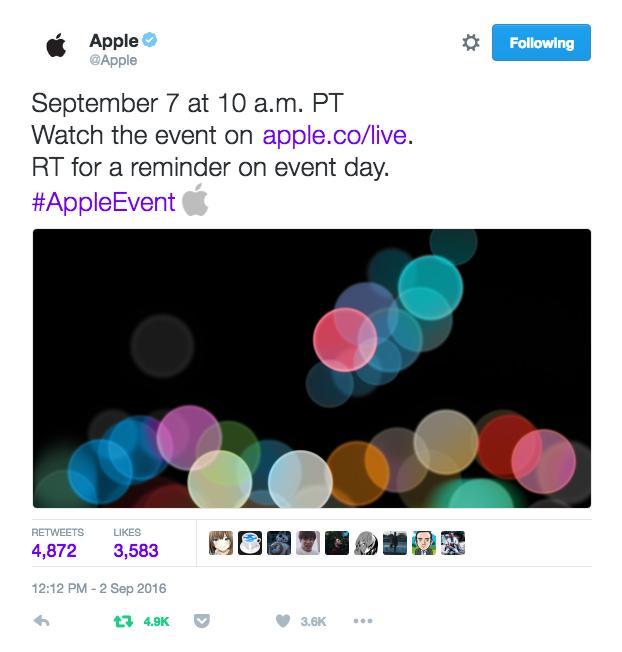 Apple Twitter Werbung