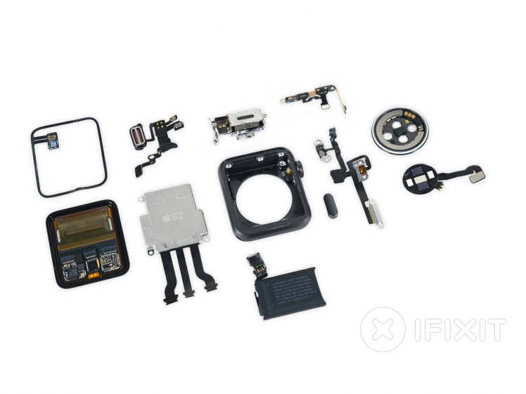 Apple Watch 2 Teardown