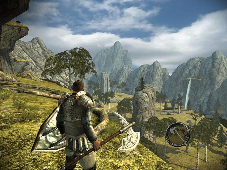 Ravensword Shadowlands Screen