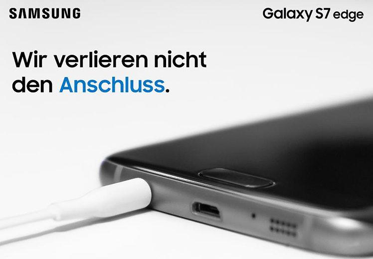Samsung mit Anschluss