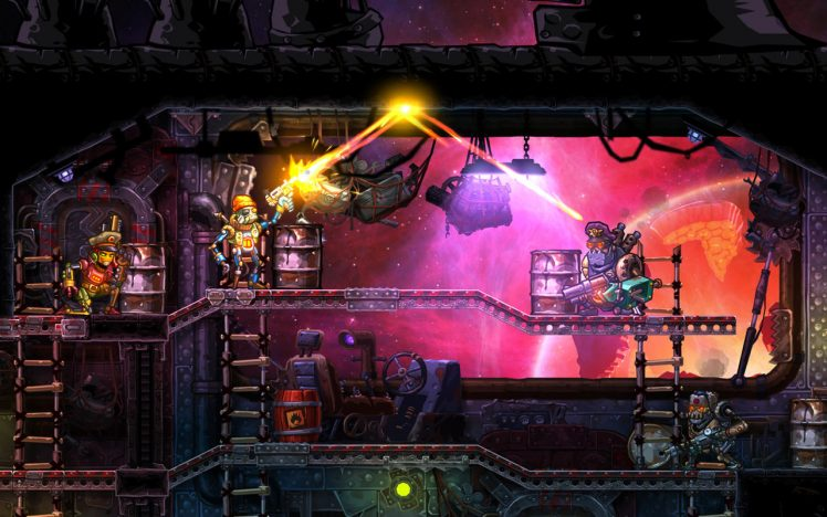 Steamworld Heist Screen