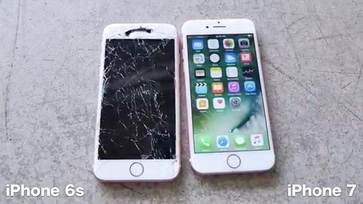iPhone 7 Sturz Video