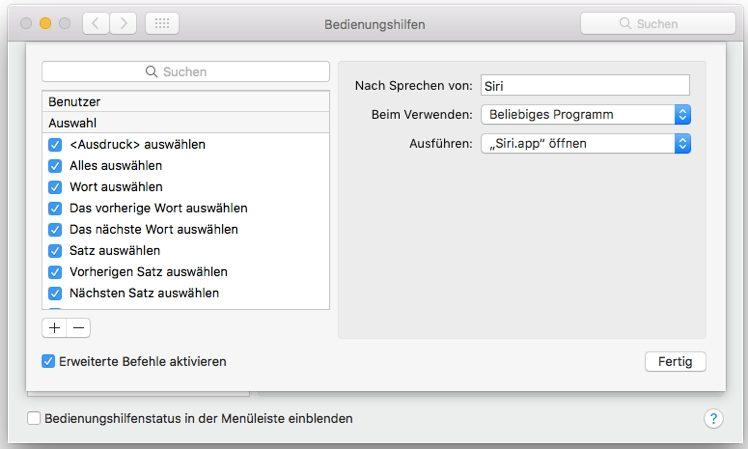 siri_mac-einstellungen