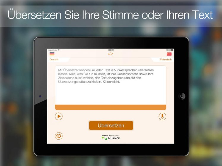 uebersetzer hd screen