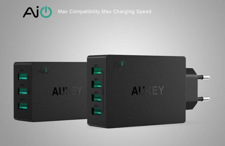 aukey-4fach-port