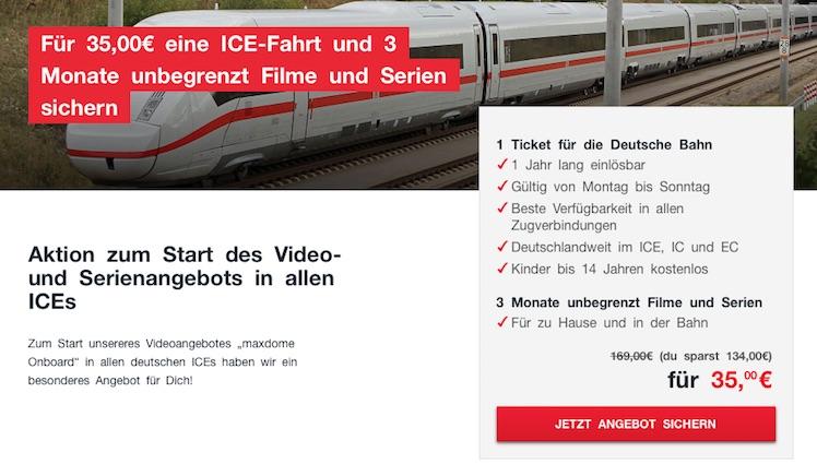 ICE TICKET 29 EURO