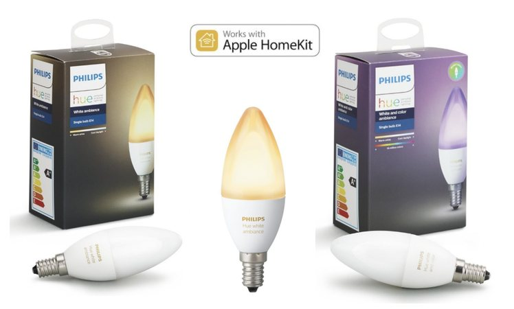 philips hue e14 lampen neu und ab sofort vorbestellbar itopnews. Black Bedroom Furniture Sets. Home Design Ideas