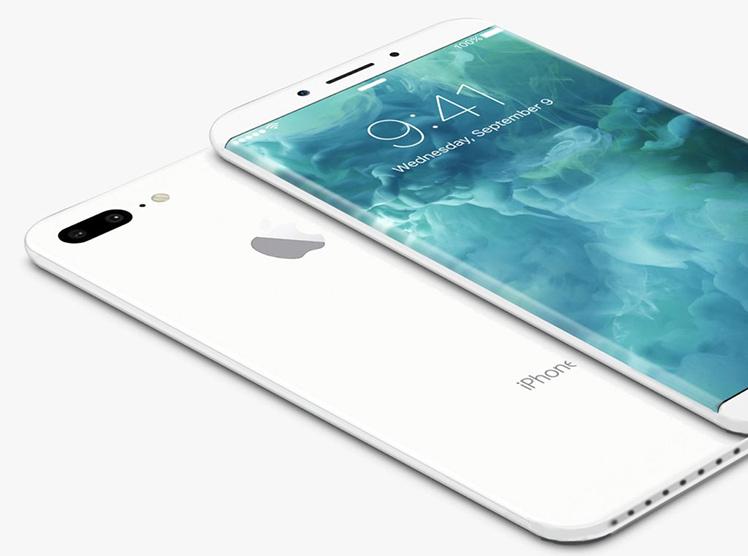 IPhone 8 mit Extra-Display auf der Vorderseite?