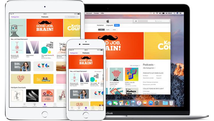 Apples Podcast-Plattform erreicht 50 Milliarden Downloads