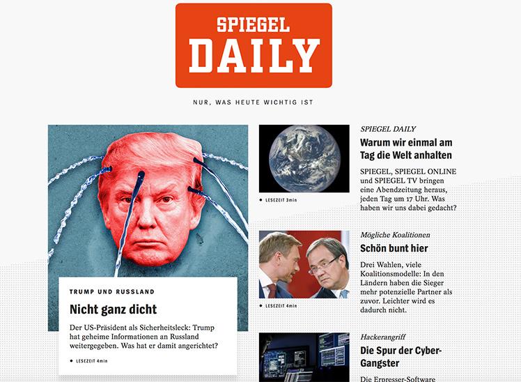 Spiegel daily mit harald schmidt das kann die neue for Neue spiegel ausgabe
