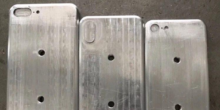 Angebliche iPhone 8-Gussformen: Kleiner als iPhone 7s Plus?