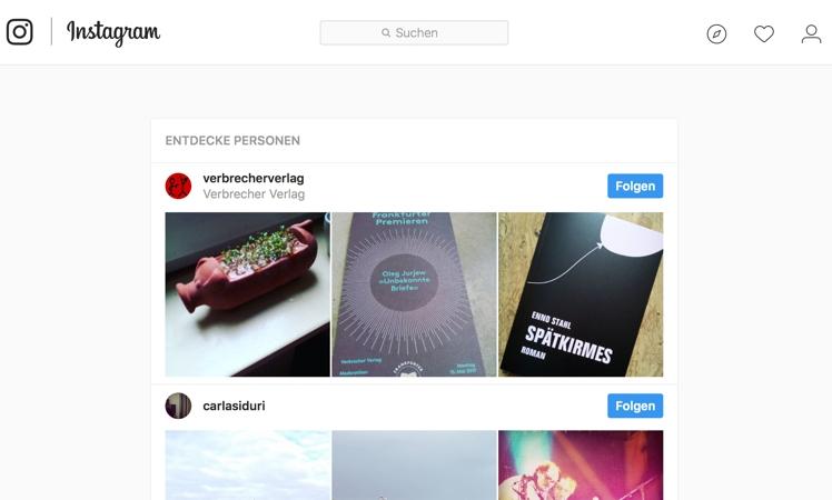 Instagram: Jetzt auch Bilder über PC-Browser hochladen
