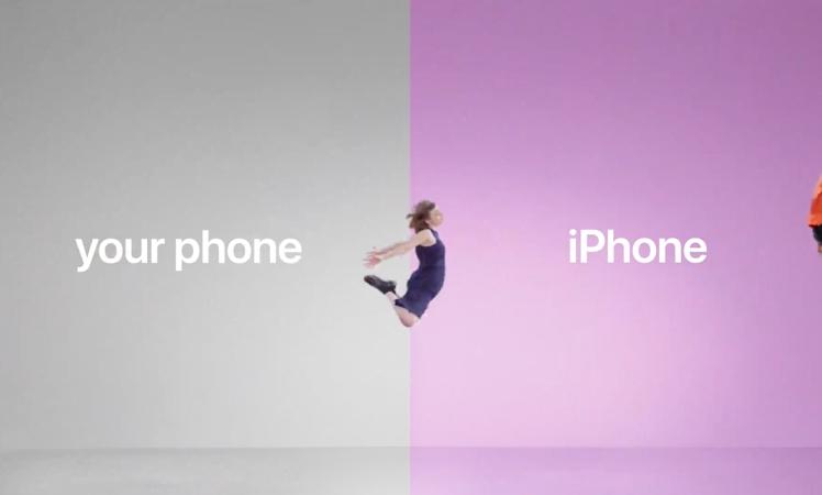 Apple will Android-Nutzer mit neuen Clips zum iPhone locken