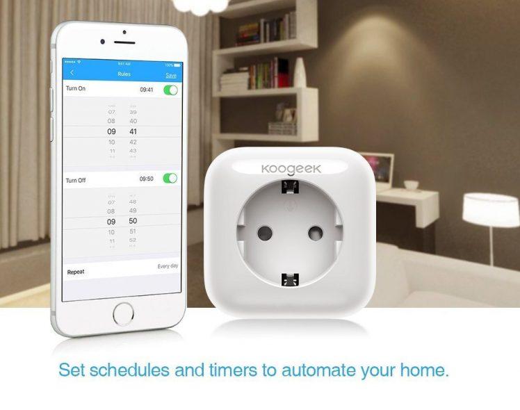 koogeek smartplug homekit kompatible steckdose zum startpreis itopnews. Black Bedroom Furniture Sets. Home Design Ideas