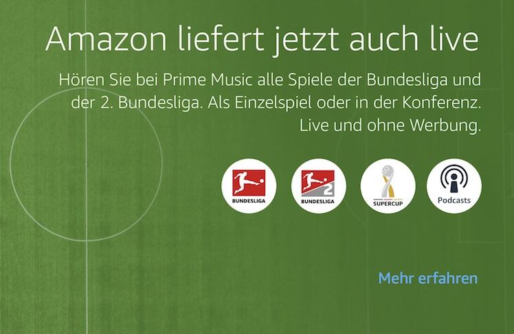 Bundesliga live bei amazon prime music die wichtigsten for Bundesliga live