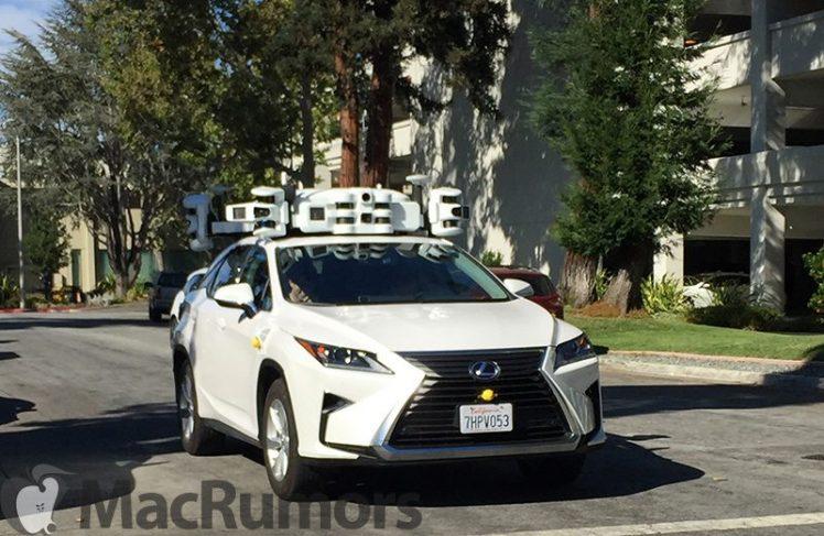 Autonomes Fahren: Apple-SUV mit LIDAR-Scanner gesichtet [Fotos