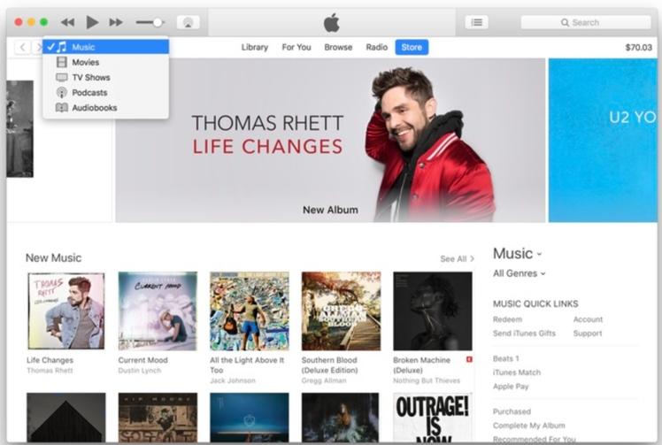 Apple veröffentlicht iTunes 12.7 - ohne iOS App Store