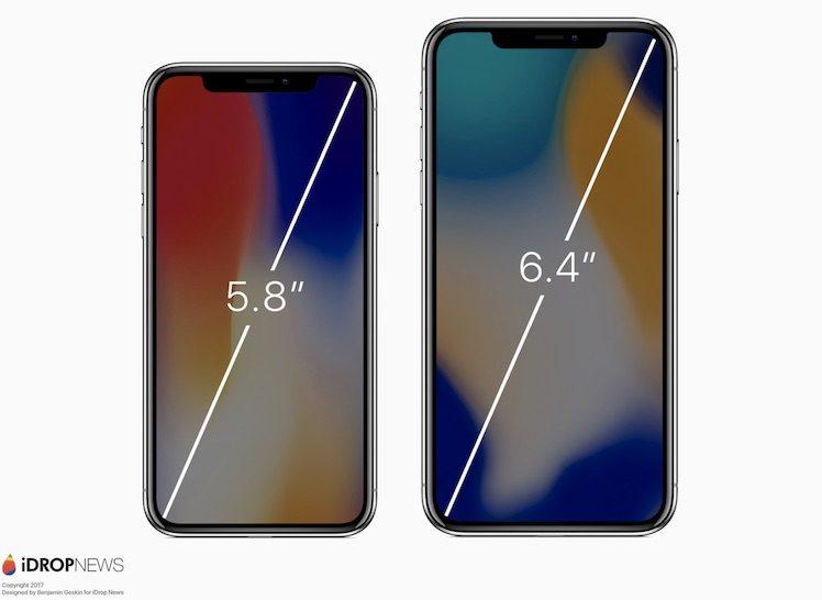 iphone x bildschirmgröße