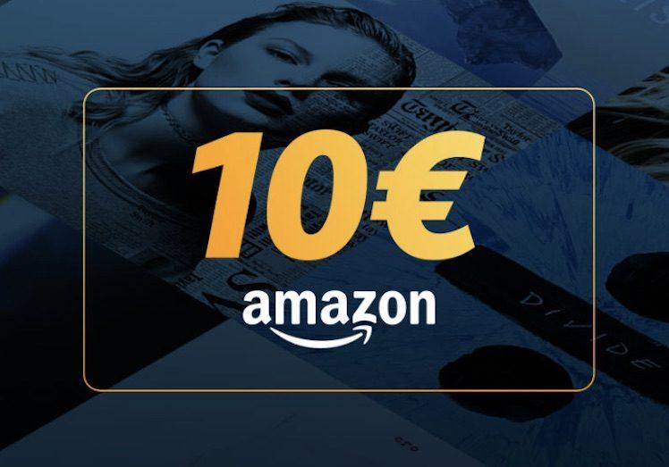 10 Euro Amazon-Gutschein Gratis