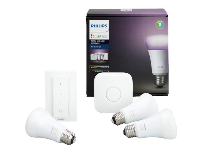 jetzt zum tiefstpreis philips hue starter set update itopnews. Black Bedroom Furniture Sets. Home Design Ideas