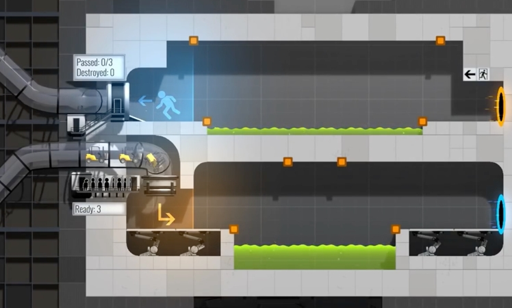 Bridge Constructor Portal - Gameplay-Trailer zum heutigen Release