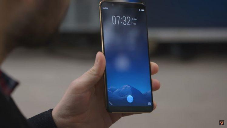 Vivo zeigt erstes Smartphone mit Fingerprint-Sensor im Display