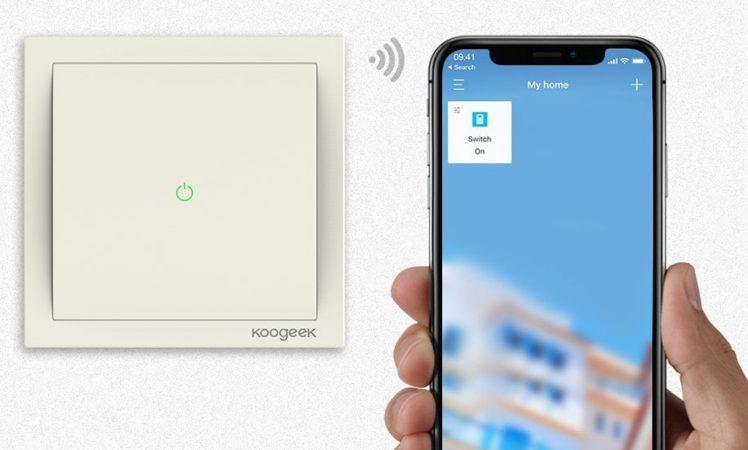koogeek homekit schalter und gl hbirnen adapter reduziert itopnews. Black Bedroom Furniture Sets. Home Design Ideas