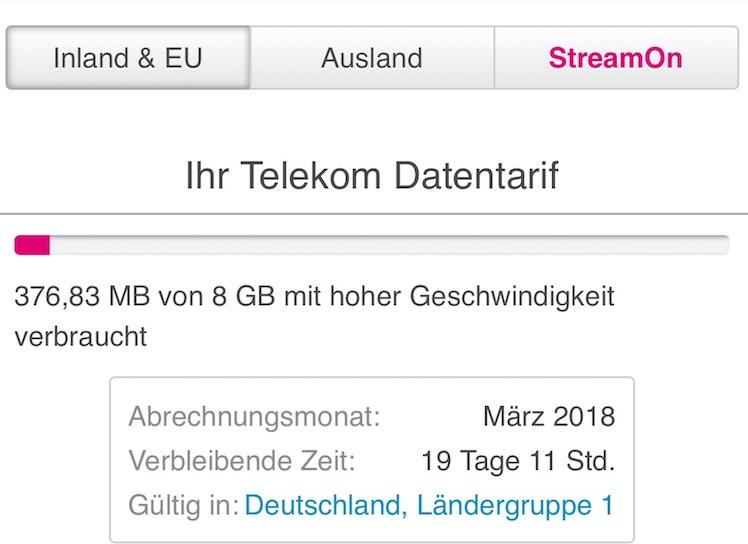 Unverhofftes Geschenk Telekom Setzt Datenvolumen Bei Kunden Auf