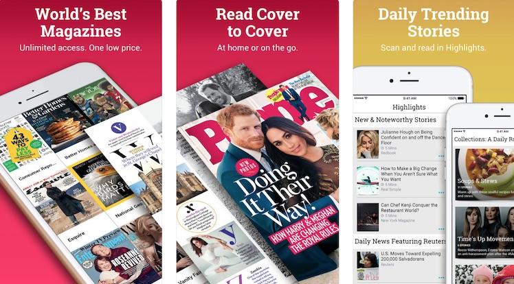 Apple erwirbt Flatrate-Anbieter für Onlineprintmagazine