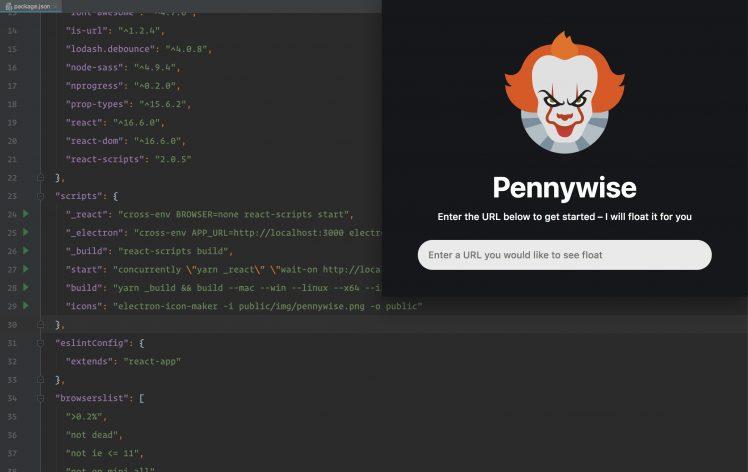 Pennywise praktisches tool f r schwebende fenster itopnews for Fenster immer im vordergrund