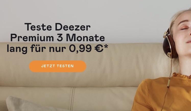 deezer musikstreaming 3 monate premium nur 99 cent itopnews. Black Bedroom Furniture Sets. Home Design Ideas