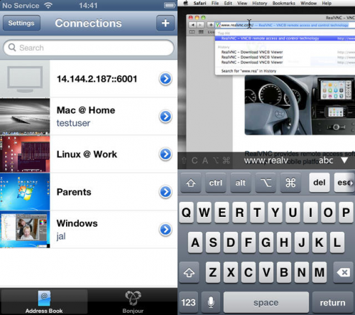 VNC Viewer screen2