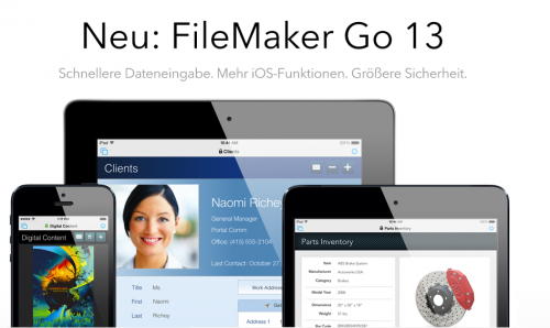 FileMaker Go Bild1